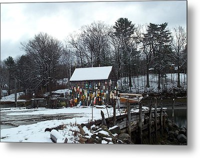 Metal Print featuring the photograph Waiting For Lobster by Barbara McDevitt