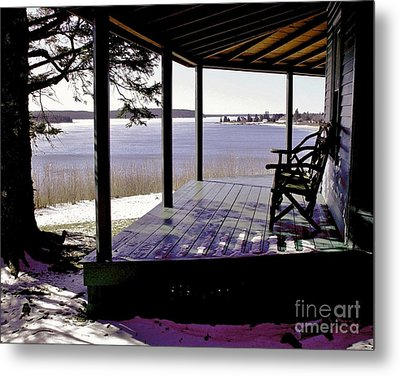 Metal Print featuring the photograph Waiting For Spring 2 by Christopher Mace