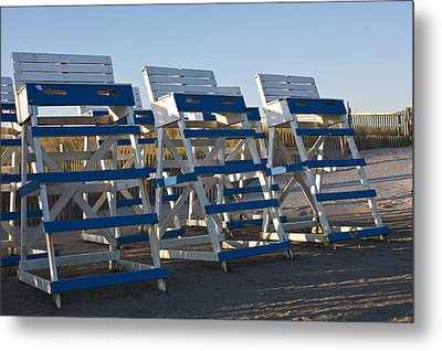 Waiting For Summer Metal Print by Patrice Zinck