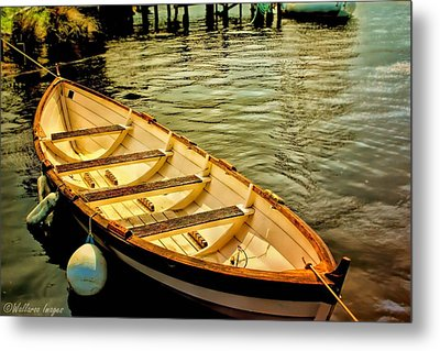 Metal Print featuring the photograph Waiting For The Fisherman by Wallaroo Images