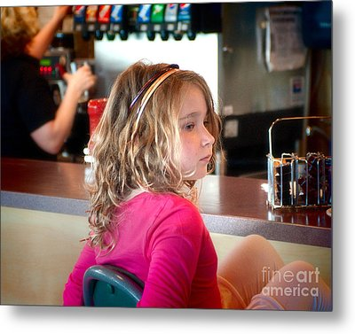 Metal Print featuring the photograph Waiting For The Grown-ups by Sandi Mikuse
