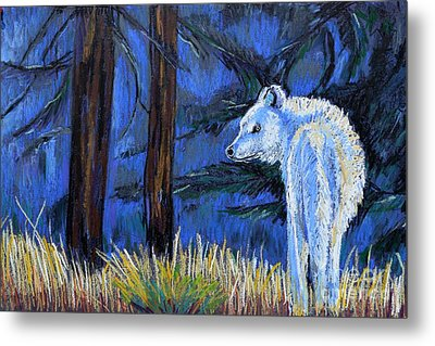 Waiting For The Pack Metal Print by Harriet Peck Taylor