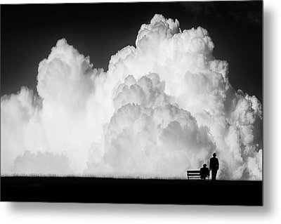 Waiting For The Storm Metal Print by Stefan Eisele
