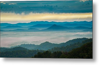 Metal Print featuring the photograph Waiting For The Sun by Joye Ardyn Durham