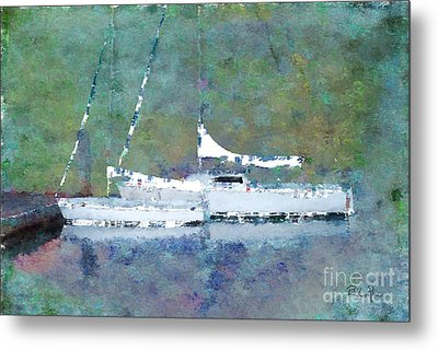 Waiting For The Wind Metal Print by Betty LaRue