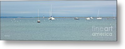 Waiting In Provincetown Metal Print by Michelle Wiarda