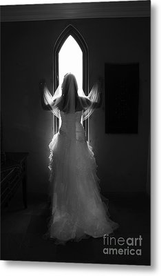 Waiting To Be Married Metal Print by Taschja Hattingh