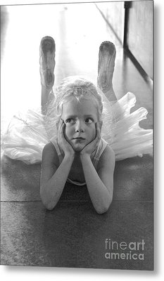 Waiting To Begin Metal Print by Suzanne Oesterling