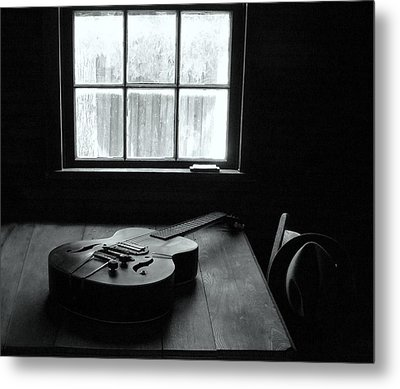 Waiting To Play Metal Print by EG Kight