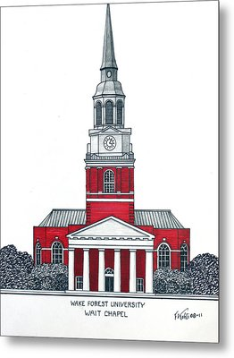 Wake Forest Metal Print