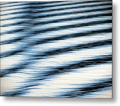 Metal Print featuring the photograph Wake by Ramona Johnston