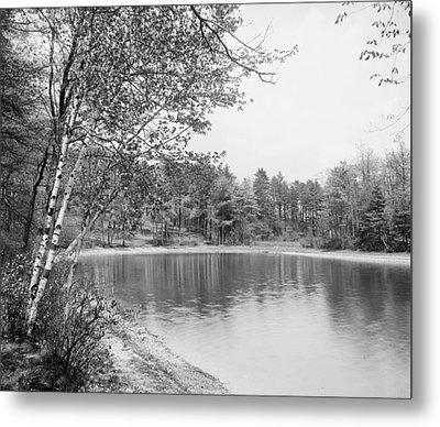 Walden Pond, C1905 Metal Print