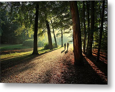 Walk Metal Print by Annie Snel