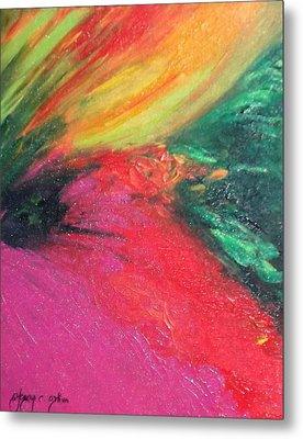 Walk Into Bliss Metal Print by Ifeanyi C Oshun