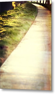 Walk Into The Sun Metal Print