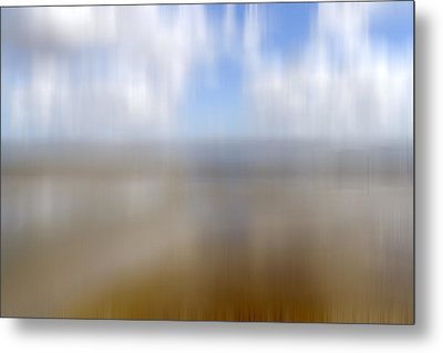 Walk On The Beach Metal Print by Kevin Round