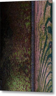 Walk The River Metal Print by Odd Jeppesen