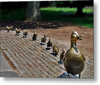 Walk This Way Metal Print