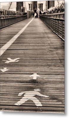 Walk This Way Metal Print by JC Findley