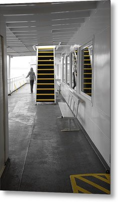 Metal Print featuring the photograph Walk This Way by Marilyn Wilson