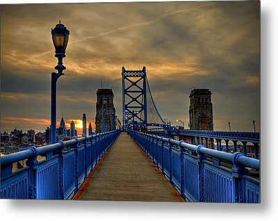 Walk With Me Metal Print