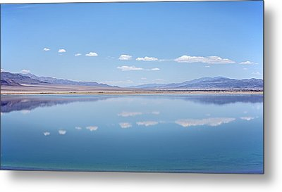 Walker Lake Mirror Metal Print
