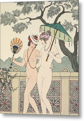 Walking Around Naked As Much As We Can Metal Print by Joseph Kuhn-Regnier