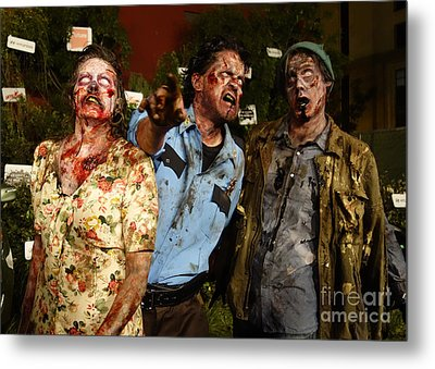 Walking Dead Metal Print