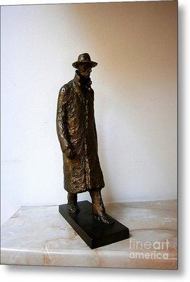 Walking Man Metal Print by Nikola Litchkov