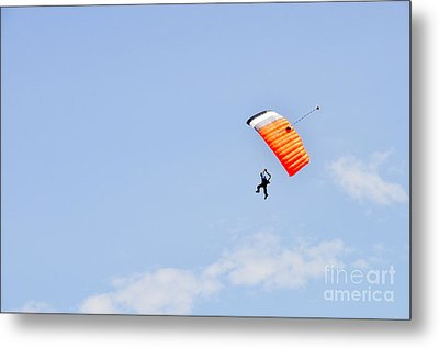 Walking On Air Metal Print