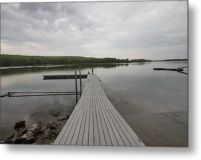 Walking The Plank Metal Print by Mustafa Abdullah