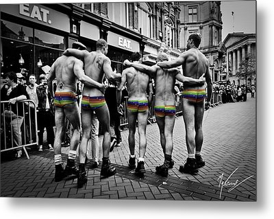 Walking With Pride Metal Print by Max CALLENDER