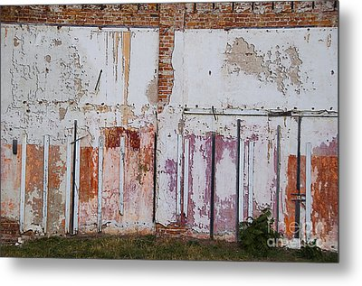 Wall Of Colors Metal Print by Terry Rowe