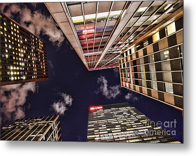 Wall Street Metal Print by Paul Ward
