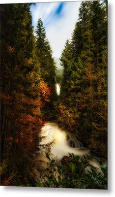 Wallace Fall North Fork Metal Print