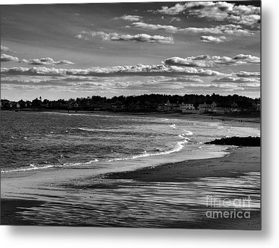 Wallis Beach Metal Print by Marcia Lee Jones