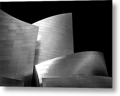 Walt Disney Concert Hall 1 Metal Print by Az Jackson