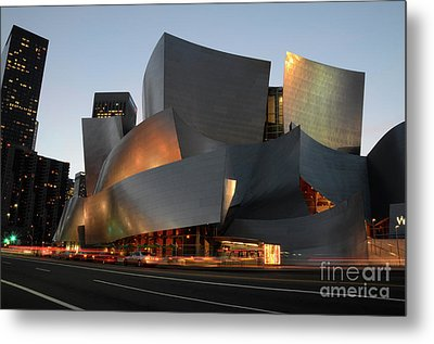 Walt Disney Concert Hall 21 Metal Print