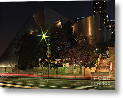 Walt Disney Concert Hall  Metal Print by Kevin Ashley