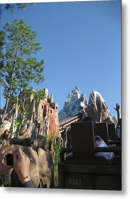 Walt Disney World Resort - Animal Kingdom - 12126 Metal Print