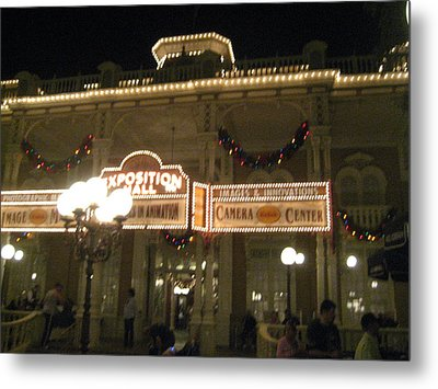 Walt Disney World Resort - Magic Kingdom - 12121 Metal Print by DC Photographer