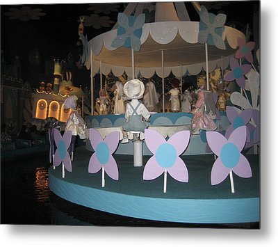Walt Disney World Resort - Magic Kingdom - 1212122 Metal Print by DC Photographer