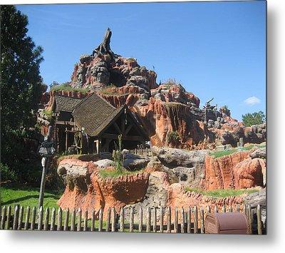 Walt Disney World Resort - Magic Kingdom - 1212136 Metal Print by DC Photographer