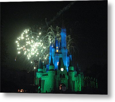 Walt Disney World Resort - Magic Kingdom - 121215 Metal Print by DC Photographer