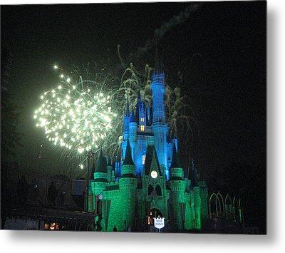 Walt Disney World Resort - Magic Kingdom - 121217 Metal Print