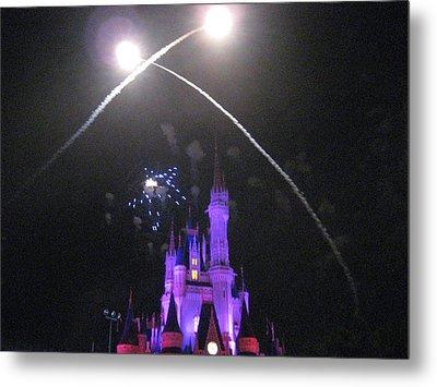Walt Disney World Resort - Magic Kingdom - 121223 Metal Print by DC Photographer