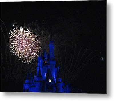 Walt Disney World Resort - Magic Kingdom - 121232 Metal Print by DC Photographer