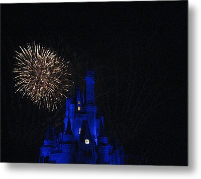 Walt Disney World Resort - Magic Kingdom - 121233 Metal Print by DC Photographer