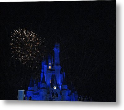 Walt Disney World Resort - Magic Kingdom - 121234 Metal Print