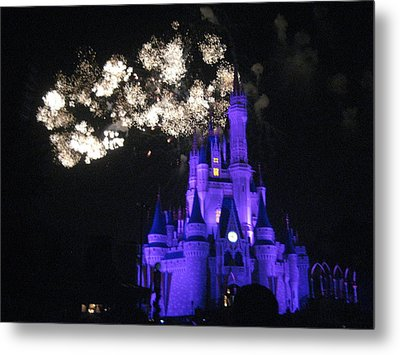 Walt Disney World Resort - Magic Kingdom - 121245 Metal Print by DC Photographer